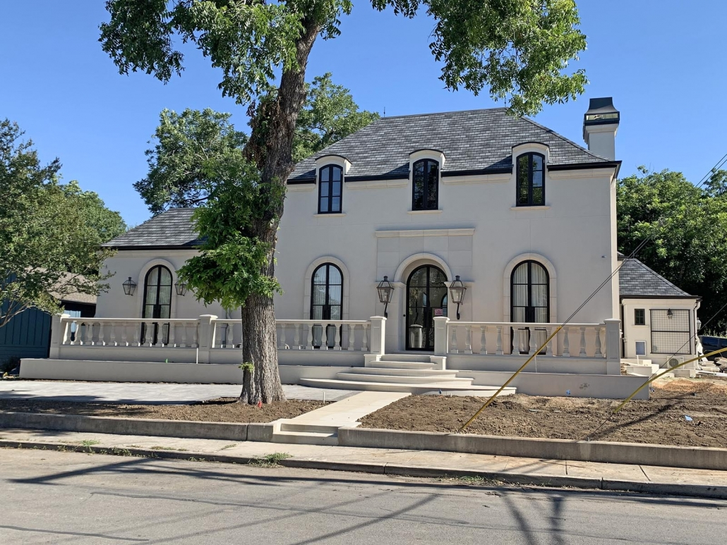 New Country French, custom home